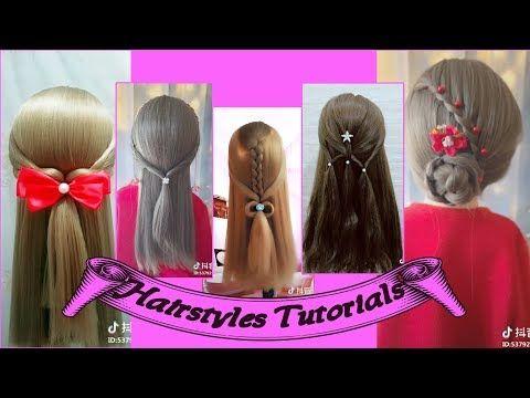 Hairstyles Tutorials Tiktok Videos Compilation P3 Youtube Hair Tutorial Hair Styles Youtube