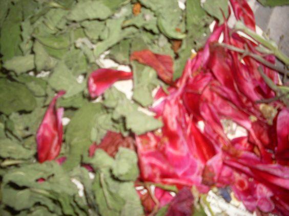 для саше, лепестки и листочки: