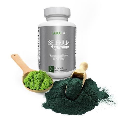Selenium Spirulina Espirulina Desintoxicar El Organismo Y