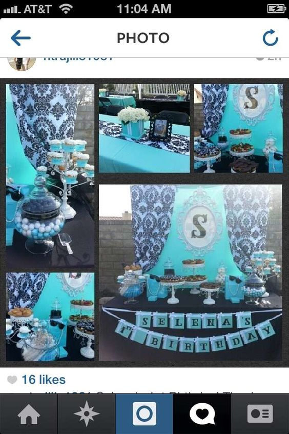 Breakfast at Tiffany's Birthday Party Ideas | Photo 12 of 18 | Catch My Party