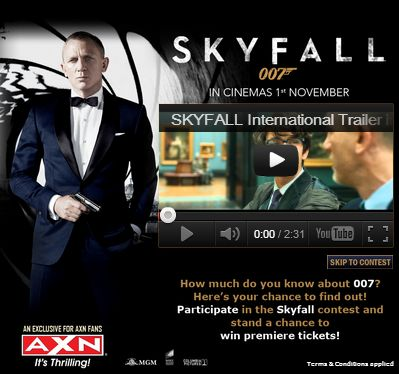Indian Brands Cashing In On Skyfall 007 On Facebook