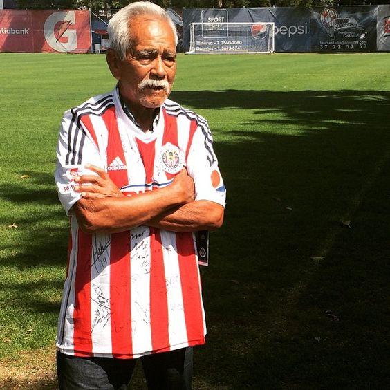 Don José Villegas, el 'Jamaicón', 8 veces campeón con los colores rojiblancos.