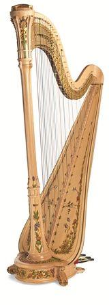 Style 11 Nouveau - I want this harp like burning.: