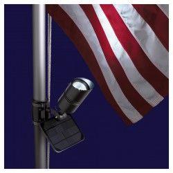 Solar Flag Light By Valley Forge Flag Pole Lighting