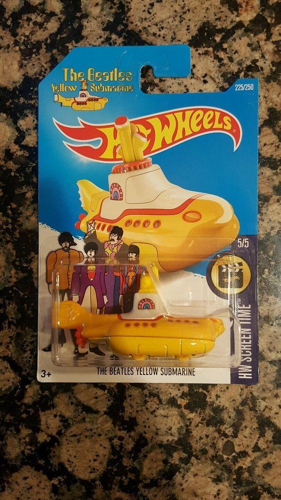 2016 Hot Wheels The Beatles Yellow Submarine
