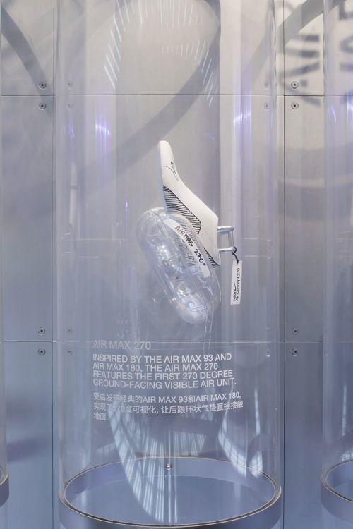 calcular águila Reverberación  NIKE AIR 19 @ HOUSE OF INNOVATION – COORDINATION ASIA 协调 | Retail interior  design, Visual merchandising displays, Window display retail