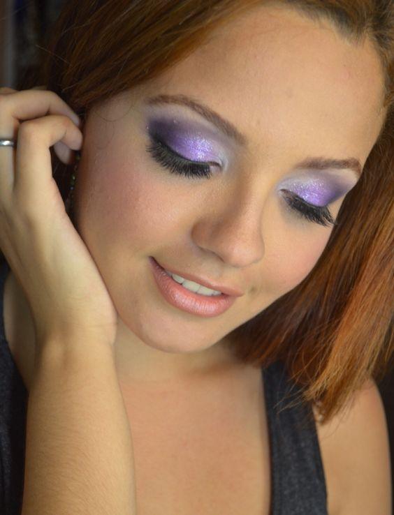 Look lilás makeupbyaldalyra