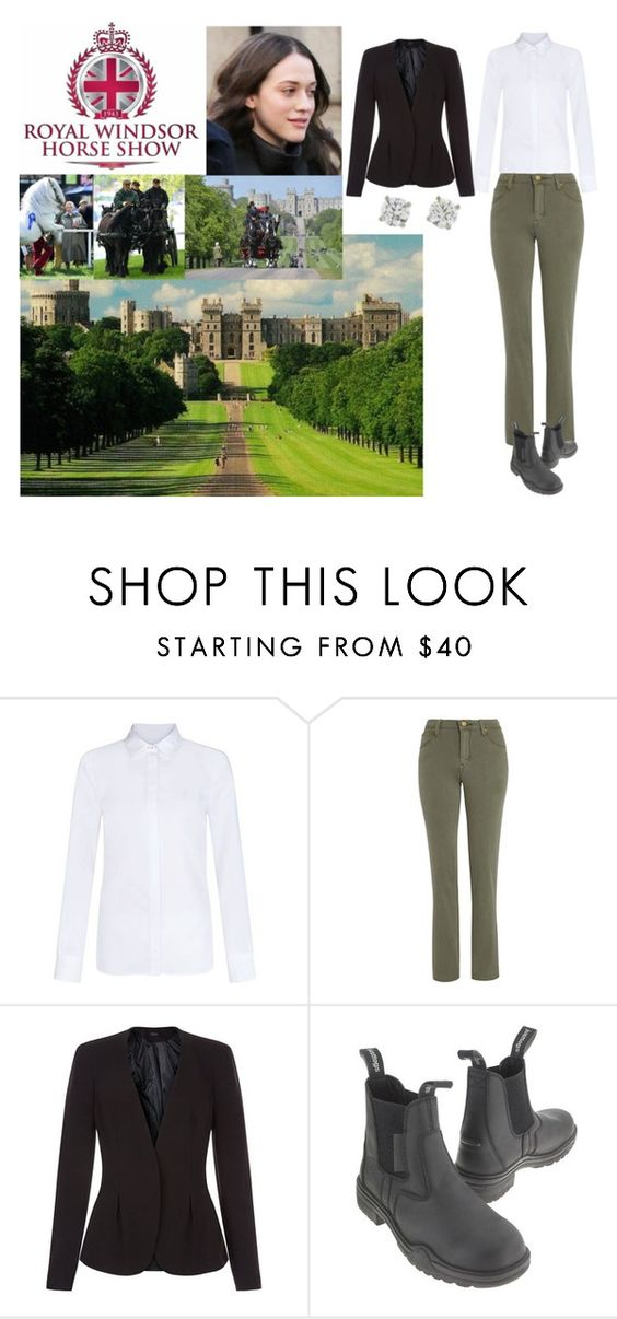 """Attending Day 3 of the Royal Windsor Horse Show."" by new-generation-1999 ❤ liked on Polyvore featuring Lee and New Look"