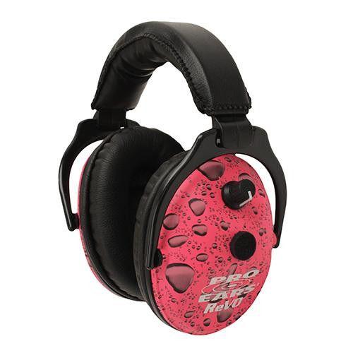 ReVO Electronic - Noise Reduction Rating 25dB, Pink Rain