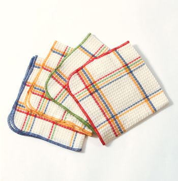 Loving these rainbow kitchen towels for, well, the kitchen :)