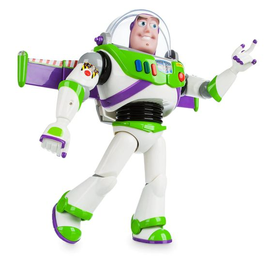 Buzz Lightyear Interactive Talking Action Figure - 12''