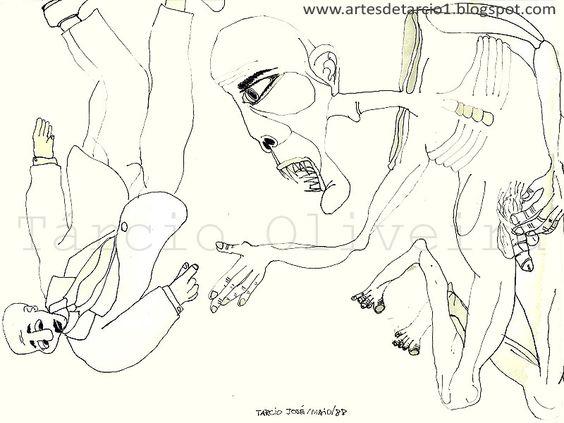 Desenho de Tarcio Oliveira