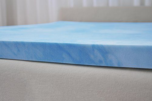 Sure2sleep Softplush 3 Pound High Density Open Cell Gel Memory Foam Mattress Topper Made Foam Mattress Topper Memory Foam Mattress Topper Memory Foam Mattress