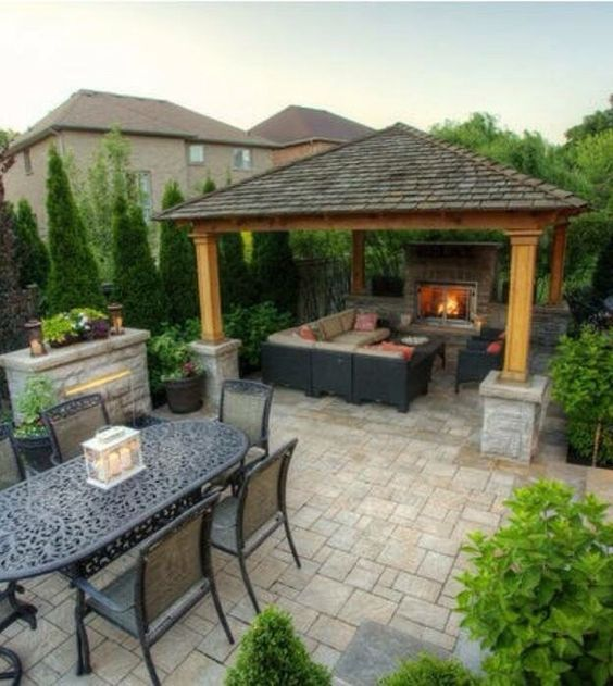 25 Amazing Outdoor Kitchen Ideas Designs Backyard Pavilion