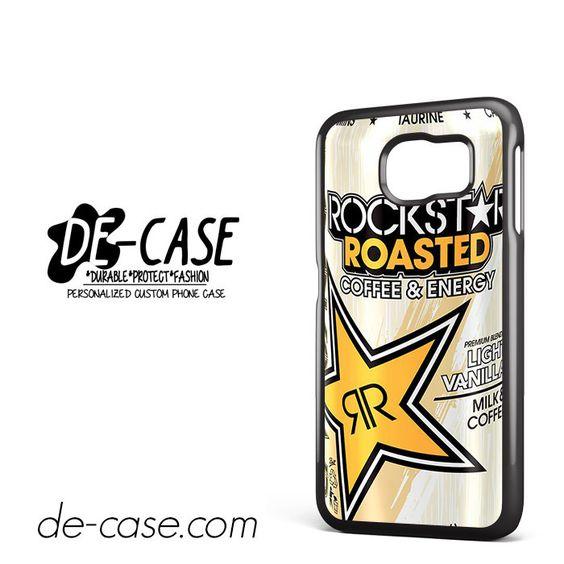 Rockstar Roasted Vanilla For Samsung Galaxy S6 Samsung Galaxy S6 Edge Samsung Galaxy S6 Edge Plus Case Phone Case Gift Present YO