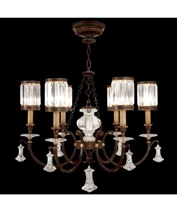 Fine Art Lamps 595440 Eaton Place 32 Inch Chandelier | Capitol Lighting 1-800lighting.com