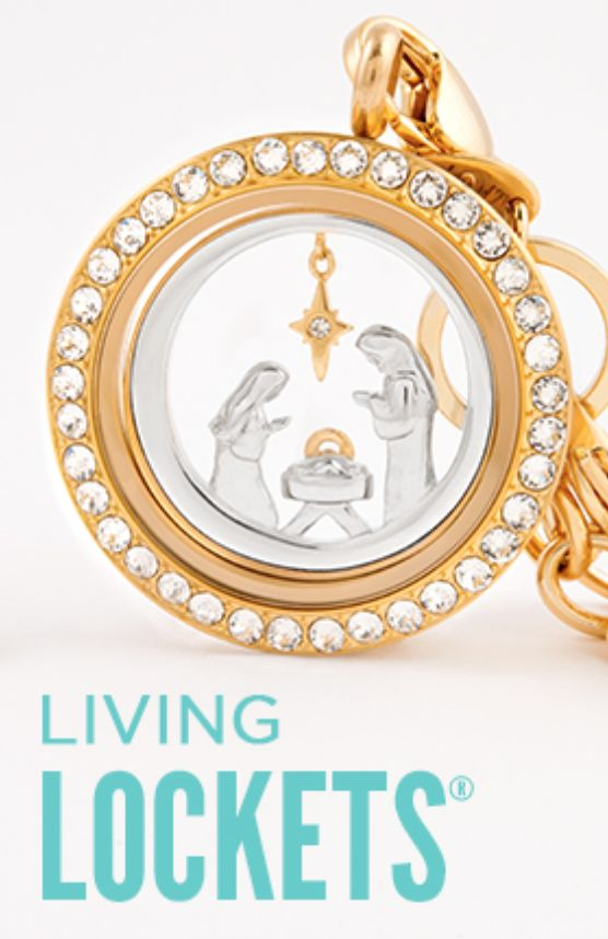 nativity christmas gifts from origamiowl lockets