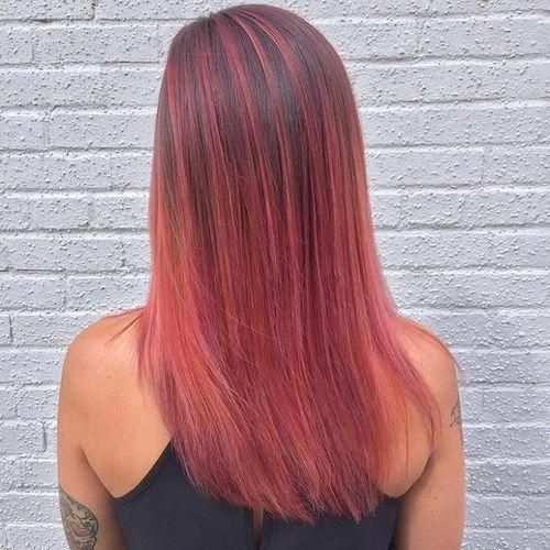 15+ Pink ombre hair straight ideas