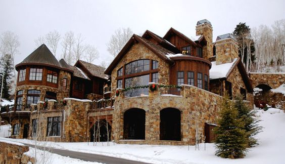 Homes Rustic Charm Home Ideas Winter Wonderland Home Dream Homes Love