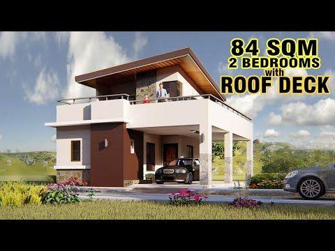 House Design Ideas Youtube 2 Storey House Design One Storey House Small House Design
