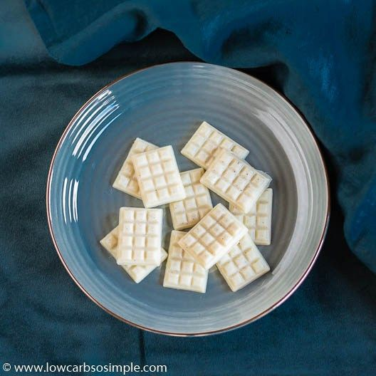 The Ultimate Dairy Free Sugar Free White Chocolate Recipe Sugar Free White Chocolate Dairy Free White Chocolate Recipes