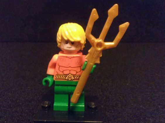 LEGO® AQUAMAN W/Trident Minifigure #LEGO