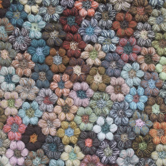 Sophie Digard crochet  flowers: