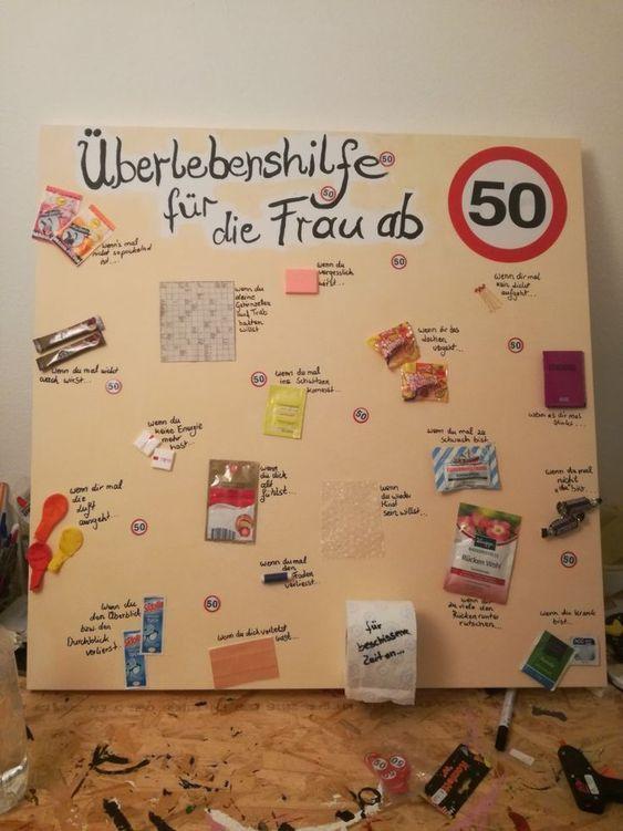 Bildergebnis Fur Geschenkideen Zum 50 Geburtstag Frauen