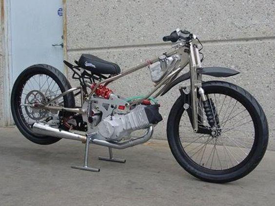 Jawa Land-speed Record Bike based on speedway engine