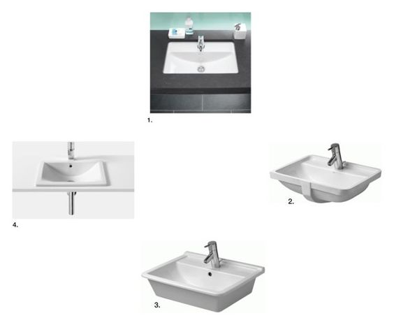 """Bathroom Basins with Tap Shelves"" by insideout1 on Polyvore featuring interior, interiors, interior design, home, home decor, interior decorating and bathroom"