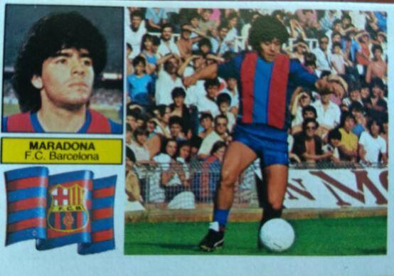 Cromo más buscado de la época en Barcelona