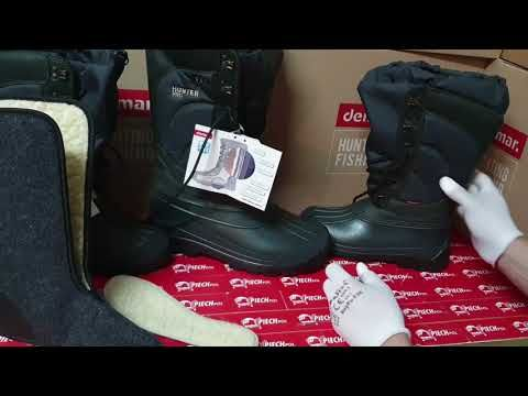 Demar Hunter Pro Sniegowce Mysliwskie 50 Stopni Piechpol Youtube Hunter Boots Hunter Riding Boots