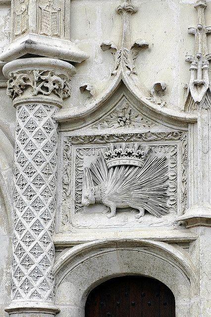 Château de Blois: Le Porc-Epic, symbole du roi Louis XII