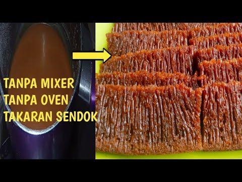 Cara Membuat Kue Bolu Karamel Sarang Semut Anti Gagal Tanpa Mixer Dan Tanpa Oven Youtube Kue Bolu Kue Karamel