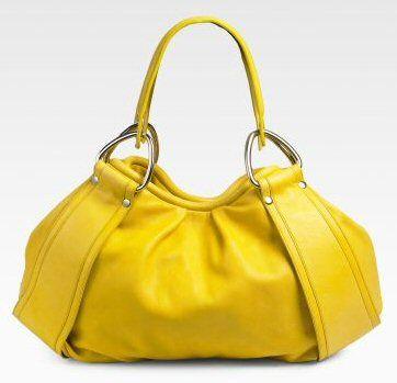 Kooba Talia Shoulder Bag #Handbag #Kooba #Yellow