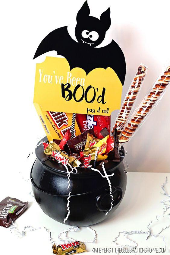 You've been boo'd Halloween Tag - free halloween printable