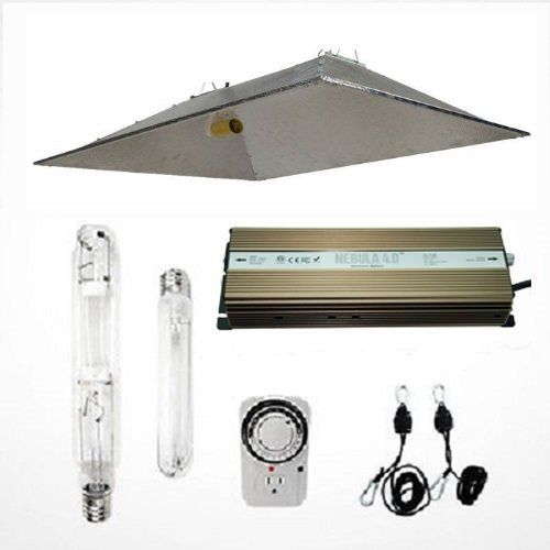 Hydro Crunch 1000w Grow Light Digital Dimmable Hps Mh System For Plant Xxl Open Hood Reflector Set See This Great Produc Grow Lights Reflectors Hydroponics