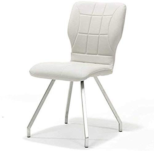 Bmg Moebel Esszimmerstuhl In Weiss Aus Kunstleder 4er Set Diy Mobel Geschenkideen Furniture Esszimmerstuhl Polsterstuhl Stuhle