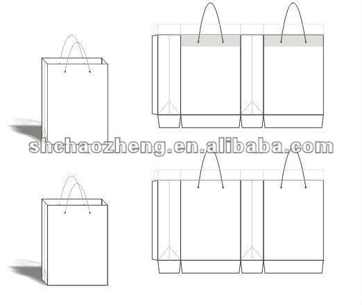 Paper Bag Design Template - Buy Paper Bag,Paper Bag Design ...