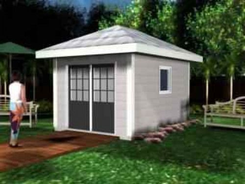 Free Hip Roof Shed Plans Shedplans Shed Plans Shed Shed House Plans