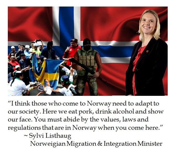 Sylvi Listhaug on Norway Immigration and iIntegration