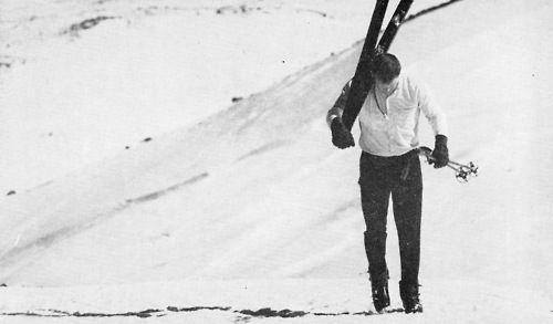 Mauna Kea slopes, 1960s.