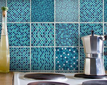 Mosaic Tile Decals Stickers
