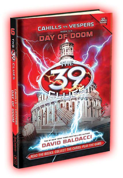 39 clues day of doom free epub book