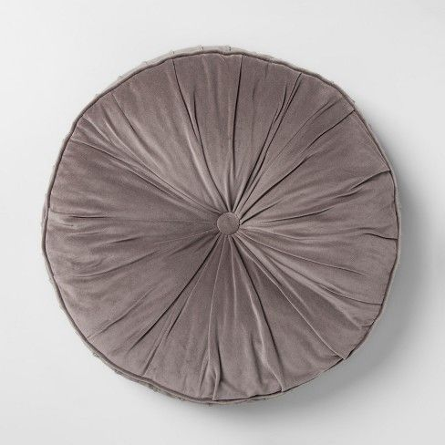 Create Your Own Unique Eclectic Style In Any Living Space In Your Home By Adding This Round Velvet Floor Pillow From Round Floor Pillow Floor Pillows Flooring