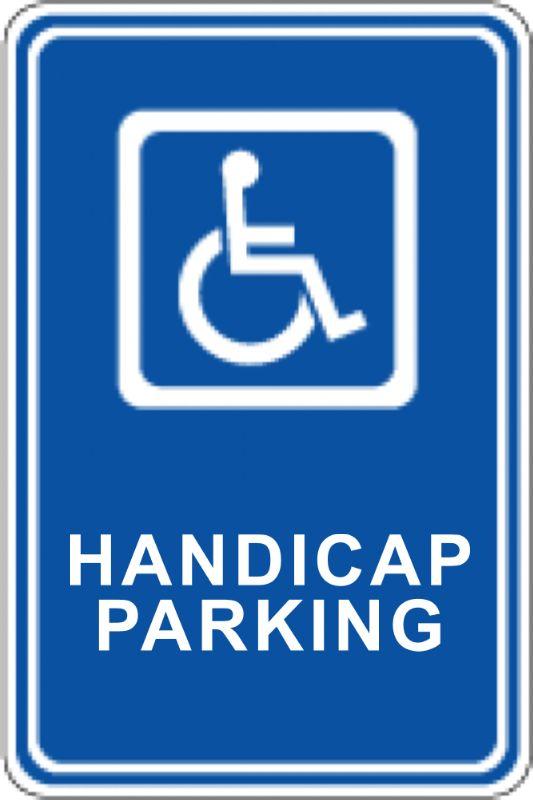 Ada Handicap Parking Sign Height Requirements