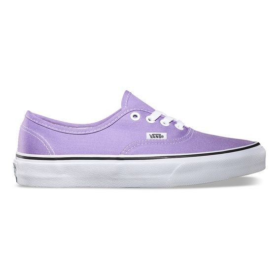 vans authentic light purple