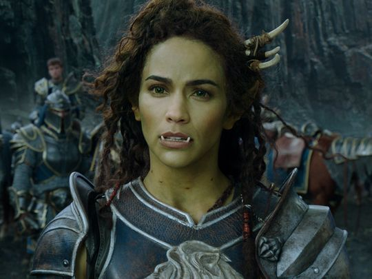 Image Result For Warcraft Movie Half Orc Female Orc Paula Patton Female Half Orc