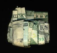 folding money in to phrases
