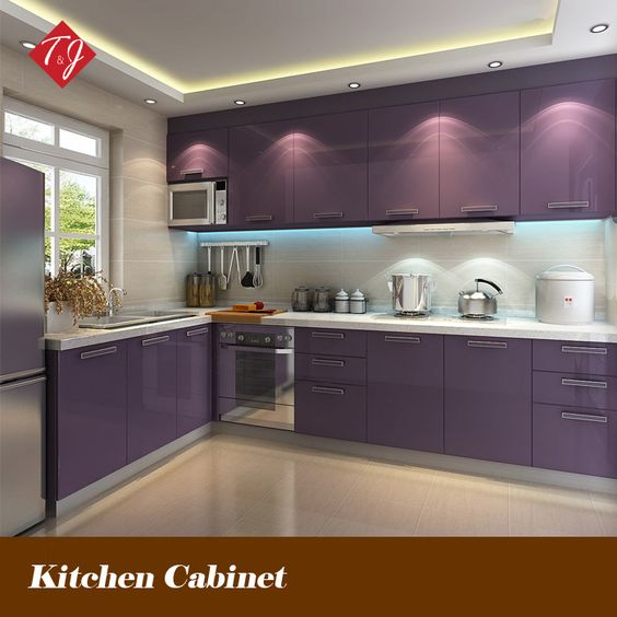 Kitchen Lighting Ideas India: Indian Kitchen Cabinets L Shaped - Google Search